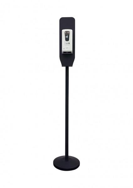 Handdesinfektionsstation Premium   schwarz   unbedruckt