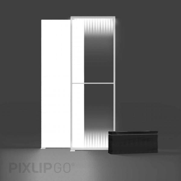PIXLIP GO   Lightbox 100 cm x 250 cm indoor   einseitig